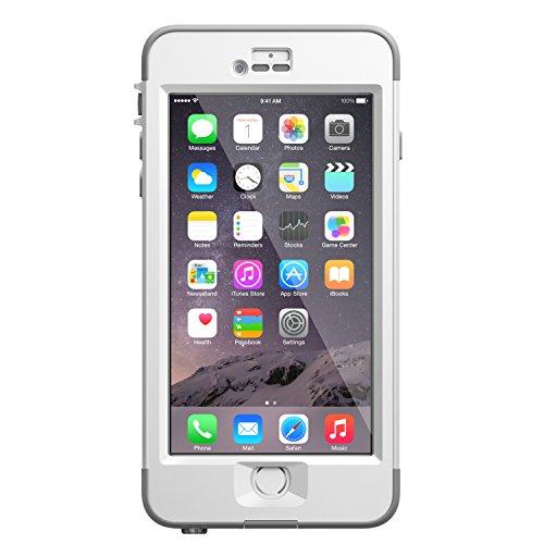 Foto LifeProof Nuud Series Custodia per Apple iPhone 6 Plus, Bianco/Grigio