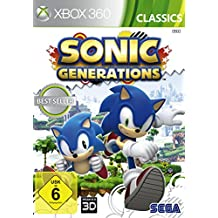 Sonic Generations (Xbox 360) (USK 6)