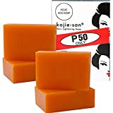 4 bars Kojie San Kojic Acid Soap Soap 65 grams per bar by Kojie San