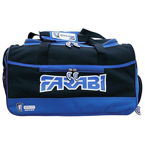 Farabi, Gym Fitness sac de vêtements d'entraînement, MMA, la boxe sac de vitesse, sac de Voyage de vitesse de formation fourre (bleu)