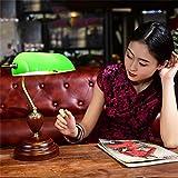 Ali American Cafe estudio clásico complejo de la vieja Shanghai República de China Biblioteca de la cubierta del banco lámpara decorativa Chiang Kai-verde
