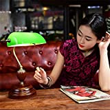 Jack Mall American Cafe Komplex klassische Studium der alten Bibliothek Shanghai Republik China Chiang Kai-grüne Abdeckung Lampe Bank