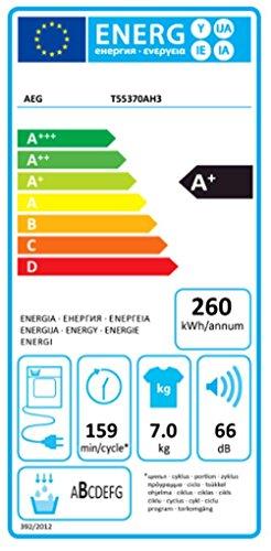 AEG Lavatherm T55370AH3 Wärmepumpentrockner - 2