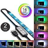 2Pcs USB mit LED- beleuchtung für tv - 5050 - computer hintergrundbeleuchtung für die einrichtung