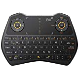 ZFF-YXJP 2,4 GHz Wireless Tastatur, USB Gaming Touch Version Maus Handheld Fernbedienung für Android TV Box Smart TV PC Laptop (Farbe : SCHWARZ)
