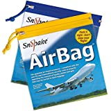 Snopake 15158 Air Bag - Bolsa con cremallera para viajar en avión (PVC, 200 x 200 mm, 5 unidades), colores surtidos