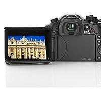 """Movo LH35 Capucha Cubierta Lujosa LCD para Pantallas Giratorias de Cámaras DSLR y LCDs de Videocámaras (para Pantallas de 7.9cm - 8.9cm [3.1-3.5""""])"""
