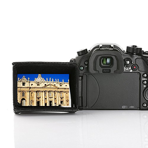 Movo LH35 Deluxe LCD-Sucher Schatten für Flippen-Raus DSLR-Kamera und Camcorder LCD's (für 3.1-3.5