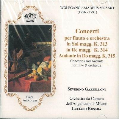 Concerto per flauto K 313 n.1 (285c) (1778) in SOL Concerto per flauto K 314 n.2 (285d) (1778) in DO Andante K 315 per flauto e orchestra in DO (1778)