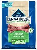 Blue Buffalo Blau Dental Knochen Natural Dog Chews Spielzeug