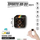 Sportkamera SQ11, Full HD Mini DV, Spion, Mikrokamera, Farbe: Schwarz