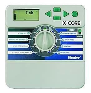 hunter xc 801i bew sserung batteriebetrieben timer 8 stationen f r innen garten. Black Bedroom Furniture Sets. Home Design Ideas