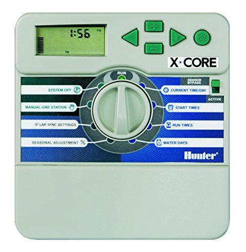 Hunter xc-801i Bewässerung batteriebetrieben Timer 8-Stationen, für Innen 8 Station