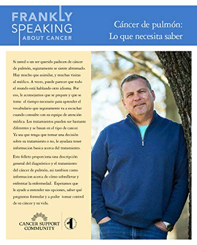 Frankly Speaking About Cancer: Cancer de pulmon: Lo que necesita saber por Cancer Support Community
