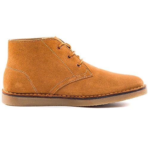 Lacoste Bradshaw Hommes Chukka Boots Tan