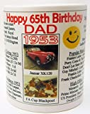 Best Birthday Gifts For All Birthday Gift For Dads - Happy 65th BIRTHDAY MUG, 1953 - Interesting Gift Review
