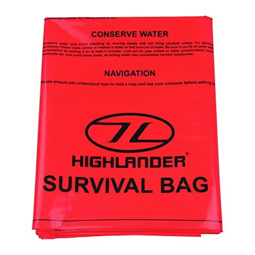 Best Price Square SURVIVAL BAG BPSCA CS037 – LH02111 By HIGHLANDER