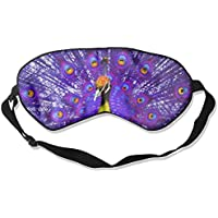 Eye Mask Eyeshade Peacock Drawing Sleeping Mask Blindfold Eyepatch Adjustable Head Strap preisvergleich bei billige-tabletten.eu