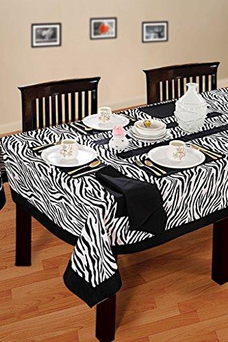 Yuga-100-coton-nappe-pour-6-Chaise-Table-Table-Standard-Imprim-Couverture-Linge-de-Table-60-X-90
