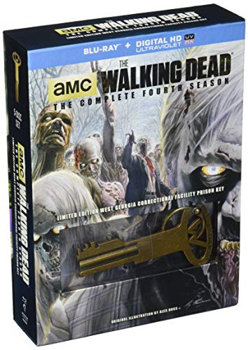 The Walking Dead: Season 4 with Prison Key Collectible [Blu-ray]