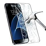 Samsung Galaxy S7 Protector de Pantalla, Infreecs Cristal Vidrio Templado Film [9H Dureza] [Full Coverage] Ultra HD Screen Protector para Samsung Galaxy S7 - Transparente (1 Pack)