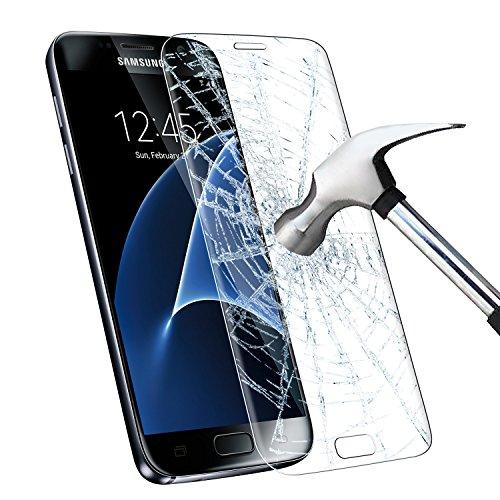 INFREECS Samsung Galaxy S7 Protector de Pantalla, Cristal Vidrio Templado Film [9H Dureza] [Full Coverage] Ultra HD Screen Protector para Samsung Galaxy S7 - Transparente (1 Pack)