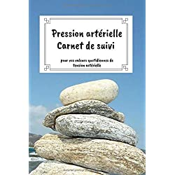 Pression artérielle Carnet de suivi - pour vos valeurs quotidiennes de tension artérielle: Passeport de tension artérielle à remplir | Journal de ... 1500 entrées | A5 - compact | motif: pierres