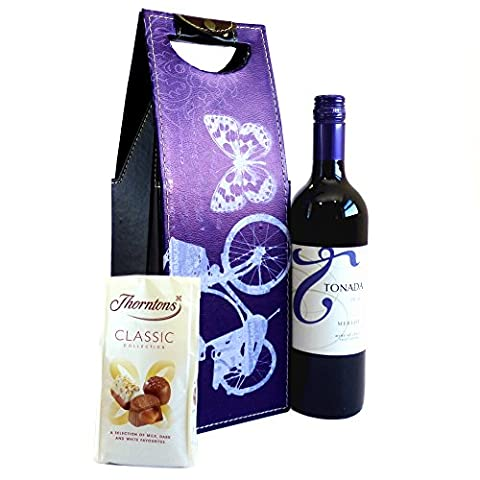 Red Wine and Chocolate gift set contains Tonada Merlot and