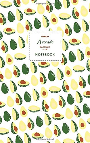 Avocado Notebook - Ruled Pages - 5x8 - Premium (Original)