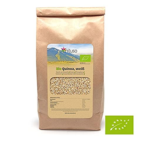 mituso Bio Quinoa Samen, 1er Pack (1 x 1000g)