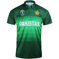 AJ Sports 2019 Pakistan World Cup One Day International Cricket Shirt, Mens