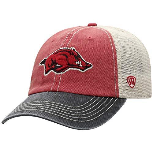 Top of the World NCAA Off Road Verstellbare Kappe, Unisex, Cardinal/Stone Athletic Vintage Cap
