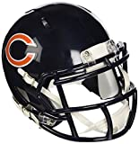 OFFICIAL NFL CHICAGO BEARS MINI SPEED AMERICAN FOOTBALL HELMET BY RIDDELL