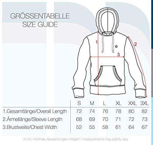 !Solid BennHood Herren Kapuzenpullover Hoodie Pullover Mit Kapuze Und Fleece-Innenseite, Größe:XL, Farbe:Insignia Blue (1991)