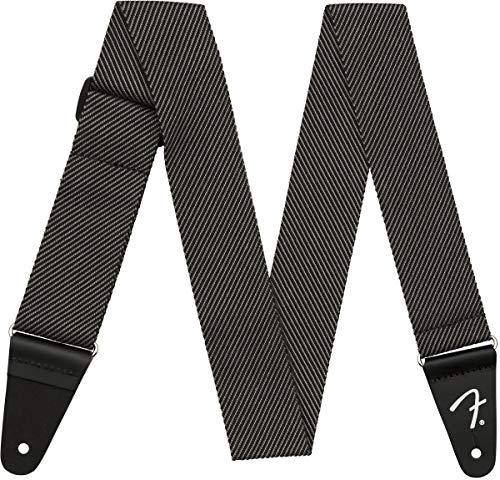 Fender Modern Tweed Strap Grau/Schwarz 5,1cm - Tweed-band