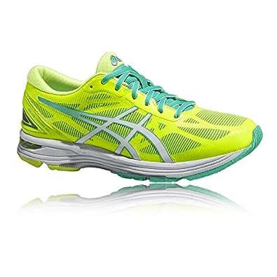 ASICS Gel-Ds Trainer 20, Running Entrainement Femmes - Jaune (Flash Yellow/White/Mint 701), 43.5 EU
