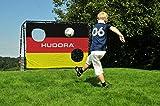 HUDORA Fußballtor Match D, schwarz, 213 x 152 x 76 cm -
