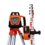 Linestorm SRL-105 Automatic Self Levelling Rotating Laser Level - For Interior and Exterior