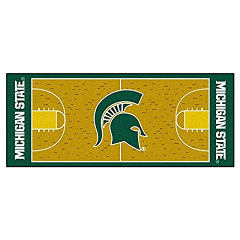 FANMATS 9960 Michigan State University Basketball Runner