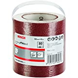 Bosch 2 608 606 804  - Rodillo lijador - 93 mm, 5 mm, 80 (pack de 1)
