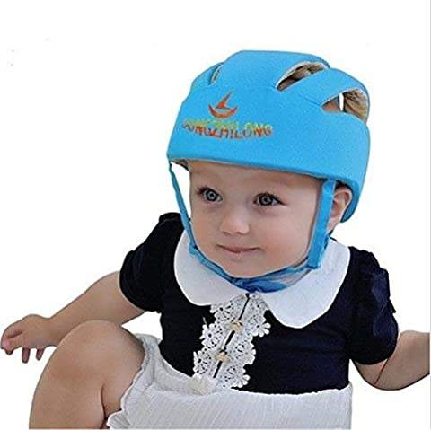 ELENKER Adjustable Baby Toddler Safety Helmet Hat Head Protection Blue