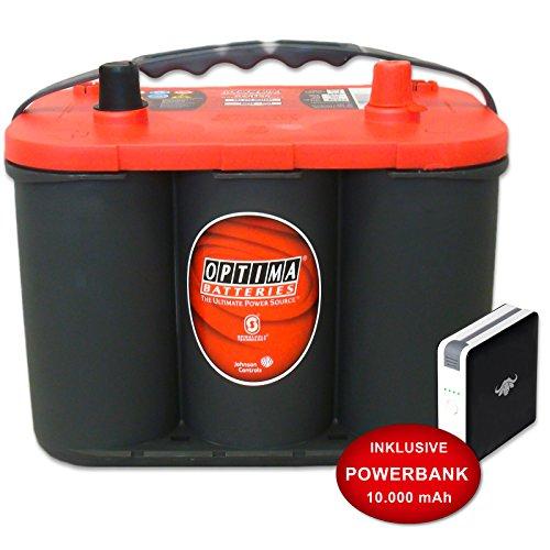 Optima RedTop C 4.2 AGM 50Ah 12V Battery starterbatterie Car Battery NEW