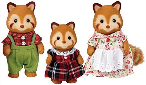 Sylvanian Families - Familia pandas rojos (Epoch para Imaginar 5215)