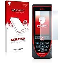 upscreen Scratch Shield Protector Pantalla Leica DISTO D810 touch Película – Transparente, Anti-Huellas