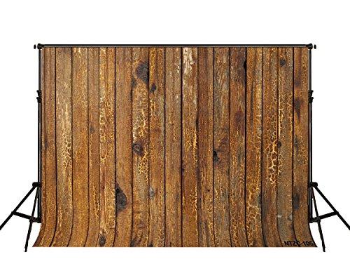 KateHome PHOTOSTUDIOS 2,2x1,5m Braunes Holz Hintergrund Vintage Holzwand Fotografie Hintergrund Textur Foto Hintergrund Porträt Mikrofaser Backgroundsfor Photo Booth Props (Photo Booth Hintergrund)
