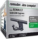 Rameder Attelage rotule démontable pour Renault KANGOO Express + Faisceau 7 Broches...