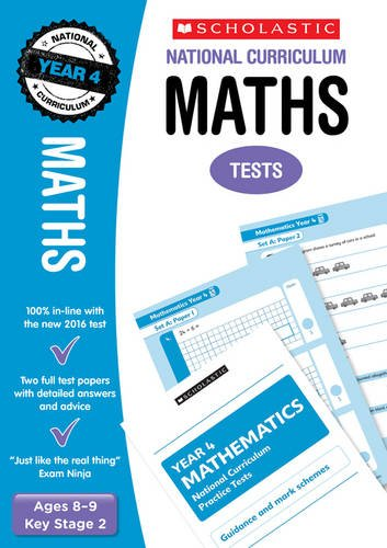 Maths Test - Year 4 (National Curriculum SATs Tests)