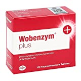 Image of Wobenzym plus, 100 St