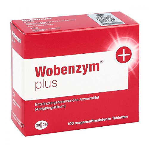 Enzym 100 Tabletten (Wobenzym plus Tabletten, 100 St.)