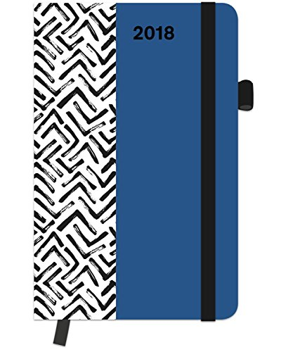 2018 Arrows Diary- teNeues SoftTouch Diary Pattern - 9 x 14 cm, Livres/Bandes dessinées